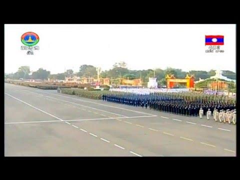 ເພງຊາດລາວ - เพลงชาติลาว - Lao National Anthem [2/12/2015]