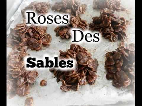 Recette Roses Des Sables Sans Vegetaline Youtube