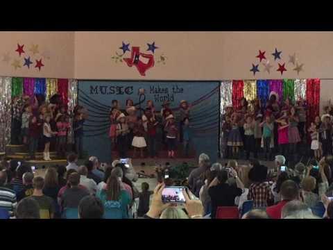 Cain Elementary School 2nd Grade Music presentation