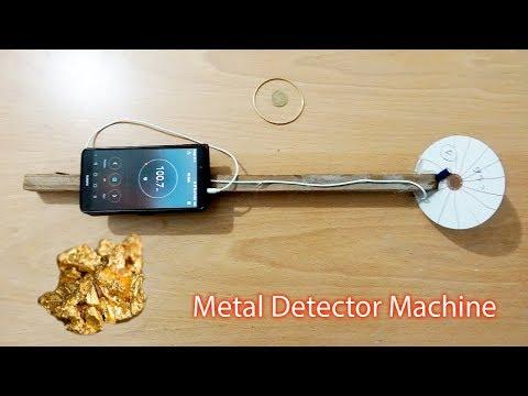 كيف تصنع آلة كشف الذهب والمعادن