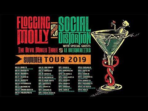 Social Distortion & Flogging Molly Sacramento Tickets - $25
