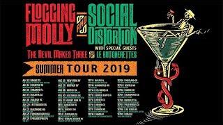 Social Distortion X Flogging Molly 2019 Summer Tour