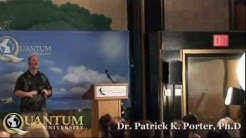 Dr. Patrick Porter does a live NLP Neuro-Linguistic Programming Session with the Audience
