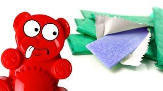 Selber Kaugummi mit dem Lucky Bär machen - DiY