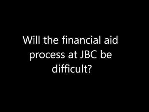 Financial Aid Process at JBC