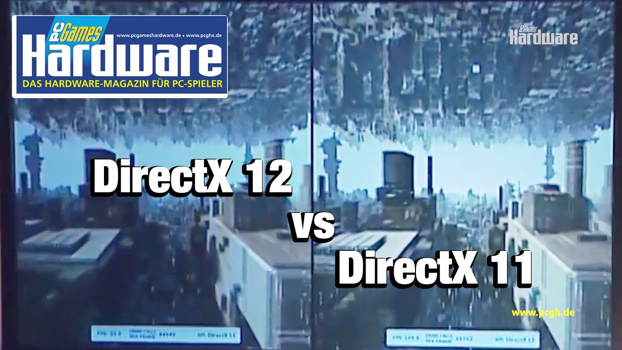 Directx 12 versus directx 11 dx12 techdemo futuremark - Dx images download ...