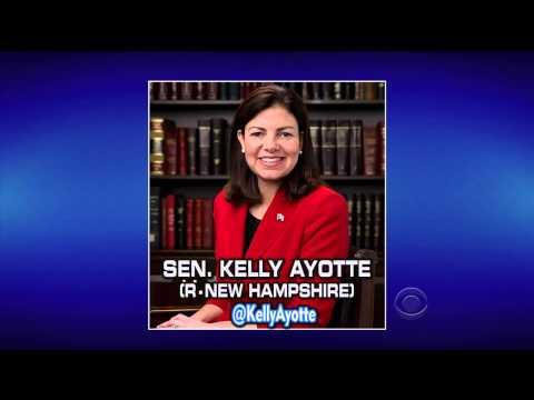 Letterman Mocks Kelly Ayotte