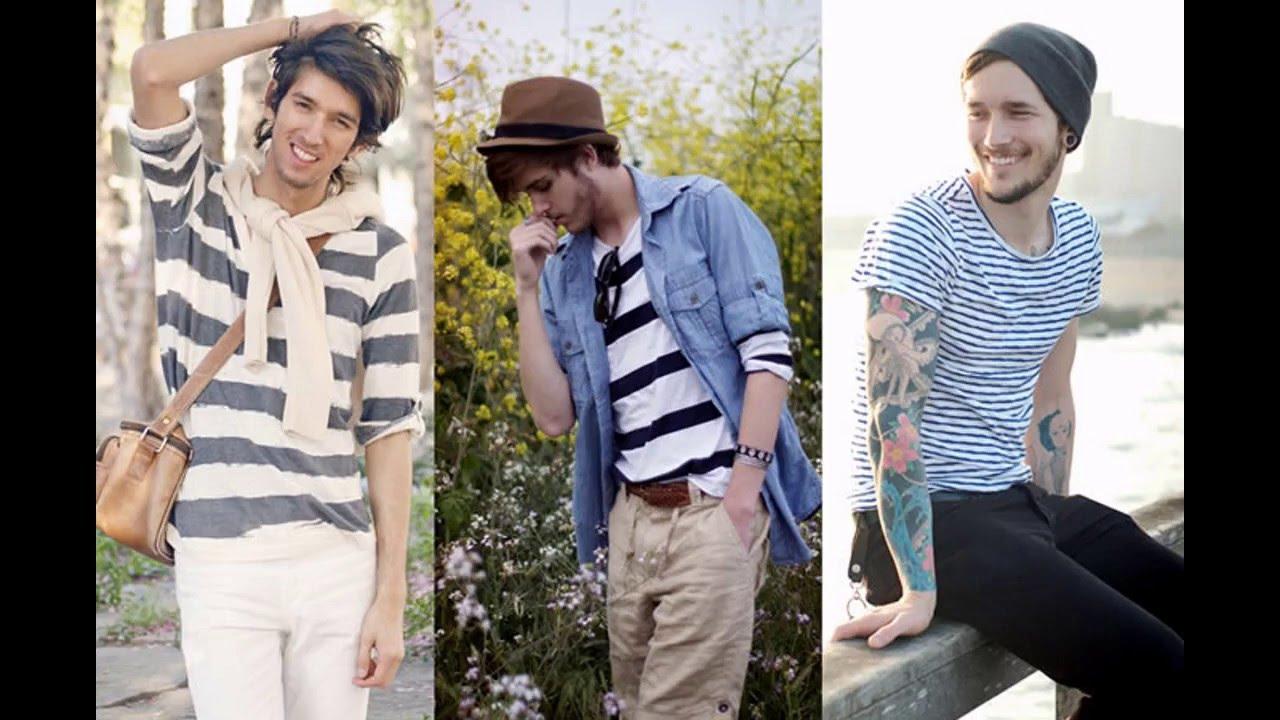 Outfits para hombres delgados