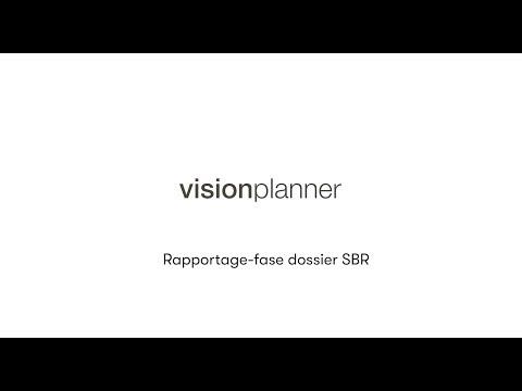 Stap rapportage dossier SBR