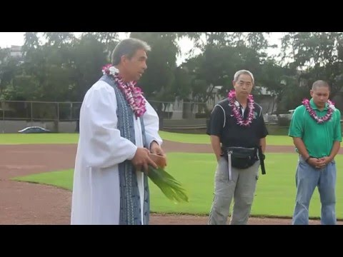 Mid Pacific Baseball Blessing