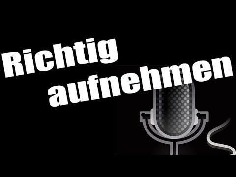 Richtig aufnehmen -- Screencast Tutorial [DEUTSCH][HD]