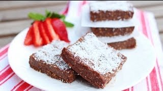 Raw Vegan Brownie Recipe - Getfitwithleyla