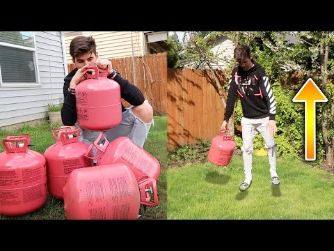 WHAT WILL HAPPEN IF I INHALE A WHOLE TANK OF HELIUM? | David Vlas