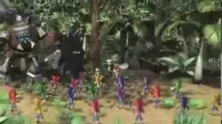 Todas las escenas CG de Crash of the Titans