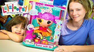 Lalaloopsy Dance With Me Interactive Toy Doll Review by Kinder Playtime