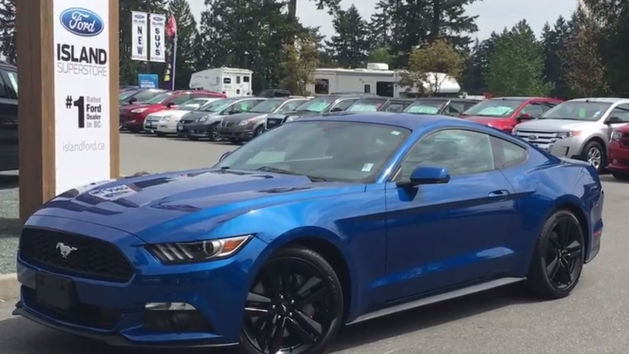 2017 Ford Mustang Ecoboost Premium Fastback Navigation Review Island Ford