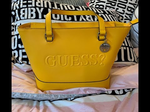 What Will Fit In The Guess Rigden Marigold Shoulder Bag