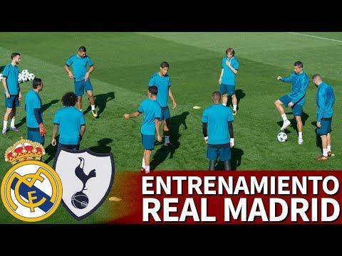 Real Madrid-Tottenham | Entrenamiento previo en Valdebebas | Diario AS