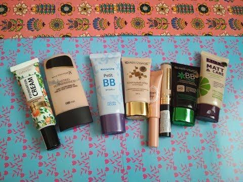 Тональные средства для КОМБИнированной кожи