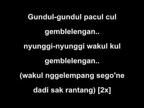 Karaoke Lagu Gundul - Gundul Pacul    Ver. KERONCONG [Karaoke Lirik]    Aplikasi OMB PC