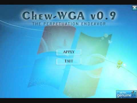 WINDOWS 7 THE TÉLÉCHARGER CHEW-WGA PATCH 0.9