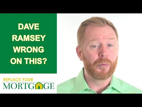 Dave Ramsey Wrong On Home Equity Loans? Do You Agree With This?