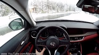 YOU Drive the Alfa Romeo Stelvio Fast! - POV Test Drive & Soundcheck
