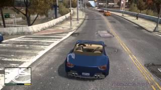 Grand Theft Auto IV in Style GTA V [v.4.0] отрывок