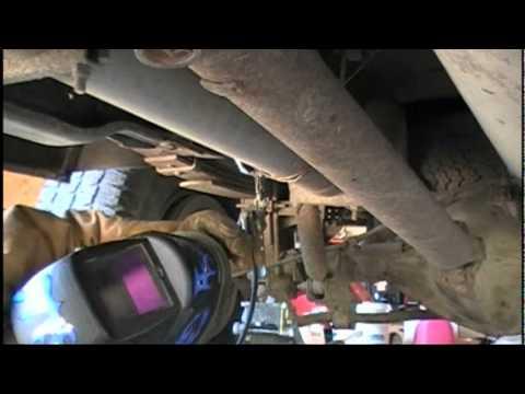 Dodge Ram 2500 Rear Sway Bar Repair  YouTube