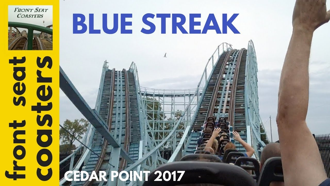 Coaster Roller Cedar Streak Point Blue
