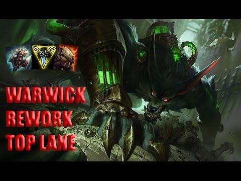 REWORKED WARWICK TOP LANE
