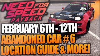 need for speed payback abandoned car february 2019