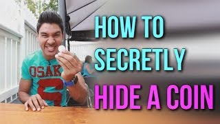 How To Secretly Hide A Coin In Your Hand | Cool Coin Magic Revealed!