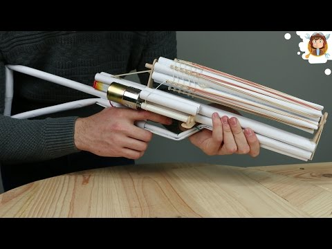 How to Make a Paper Gun that Shoots -...