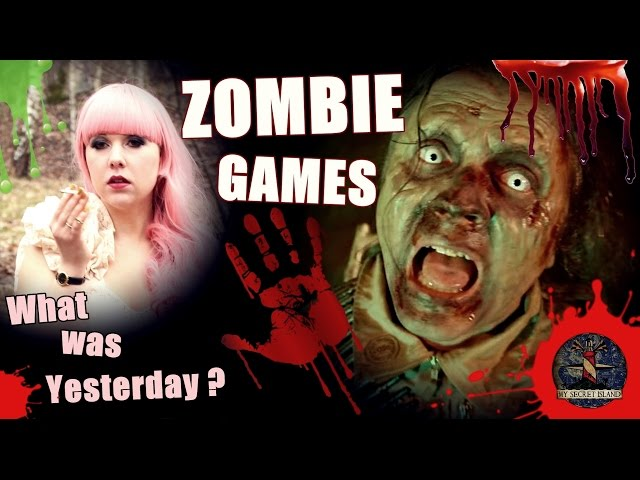 MY SECRET ISLAND – What was Yesterday | The Re-Animator Games in Zombieland