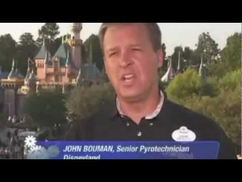"""Disneyland Fireworks Behind the Scenes - """"Gears Behind the Ears"""""""