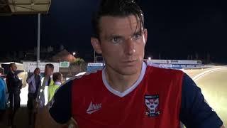 Sean Newton's view on Darlington draw