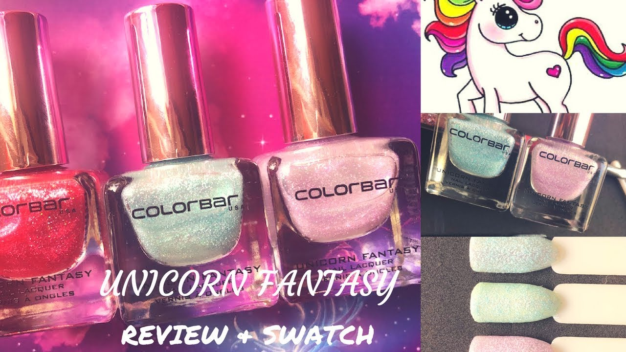 UNICORN FANTASY NAIL LACQUER REVIEW & SWATCH - 2018 - YouTube