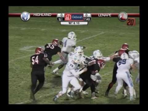 LDTV Sports: Highland at Lenape Football Playoffs 11/18/16