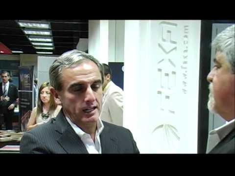 Sergio Corian en EXPOCON 2012 - FORUM SANTA FE CONSTRUYE