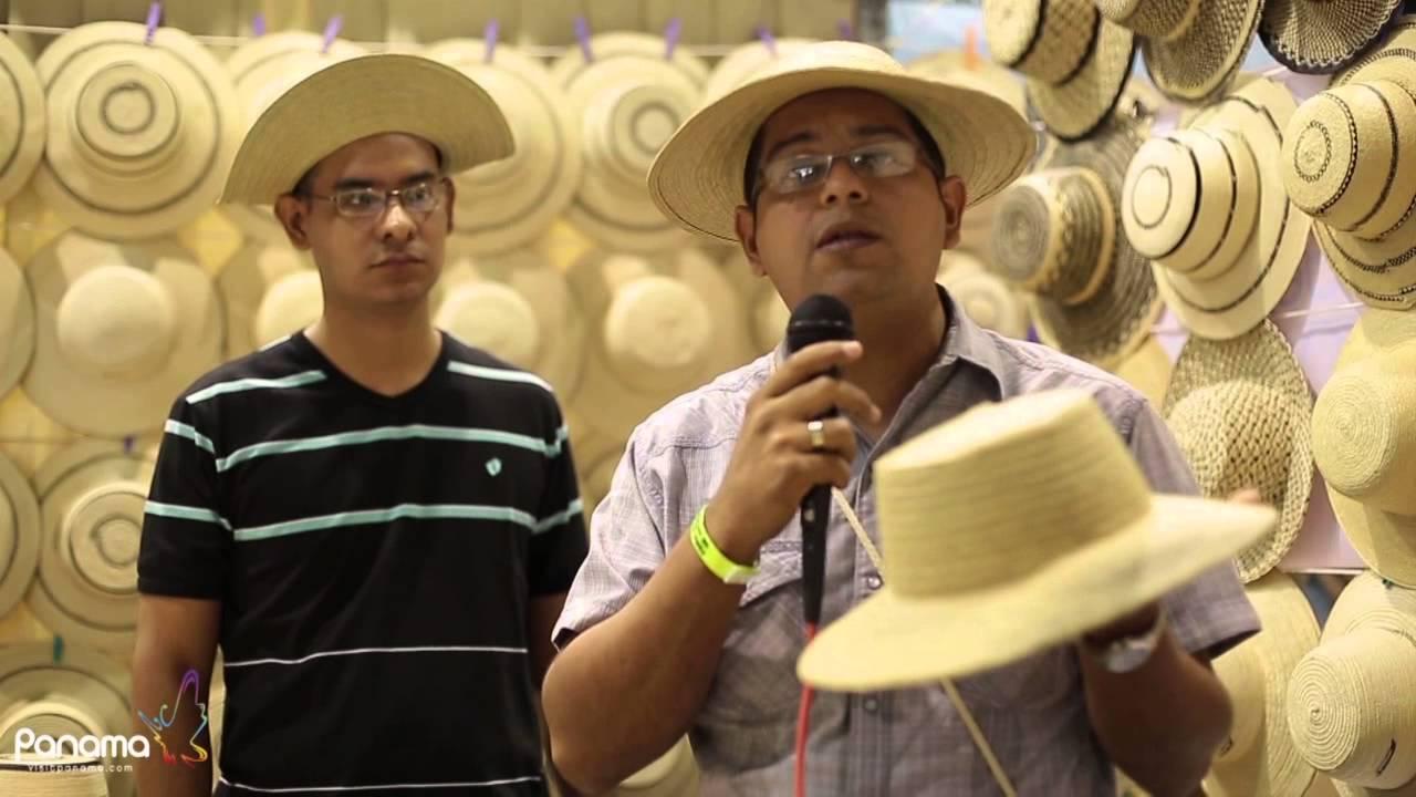 6ef46c39a8500 Sombreros Típicos Panameños - YouTube