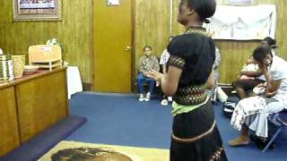 He Was There All The Time Rev  James Moore Frank Williams praise dance by Velma Cook