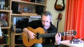La Vie en Rose Guitar Cover - by Ton van Helden
