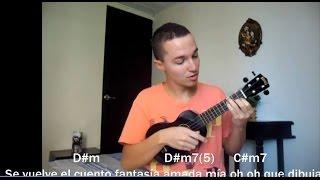 Vicente Garcia Carmesí- tutorial ukulele