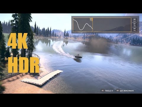 Far Cry 5 PC Benchmark in 4K + HDR