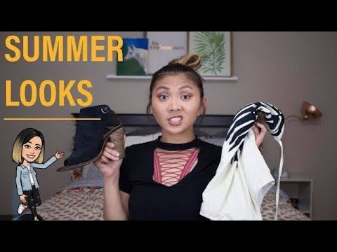 [VIDEO] - 5 Outfit Ideas for Summer! | backpackbarbs 2