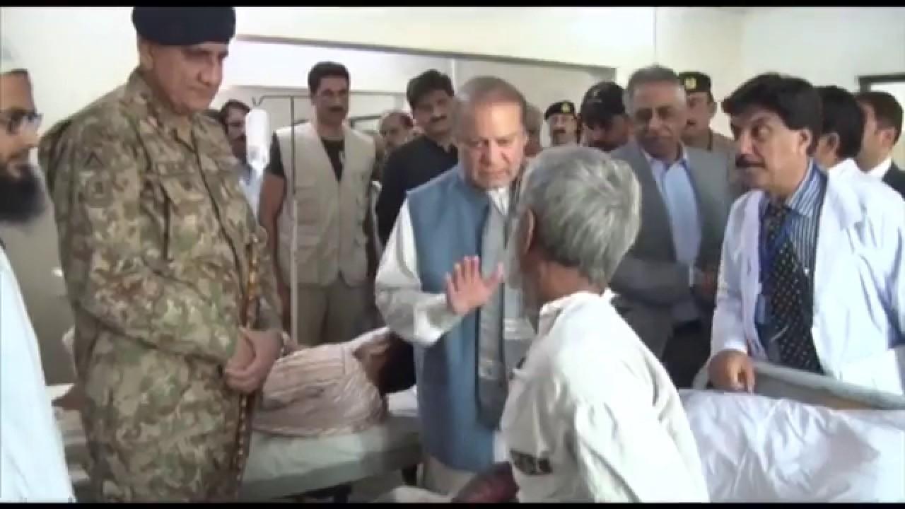 COAS visited Nawab Shah