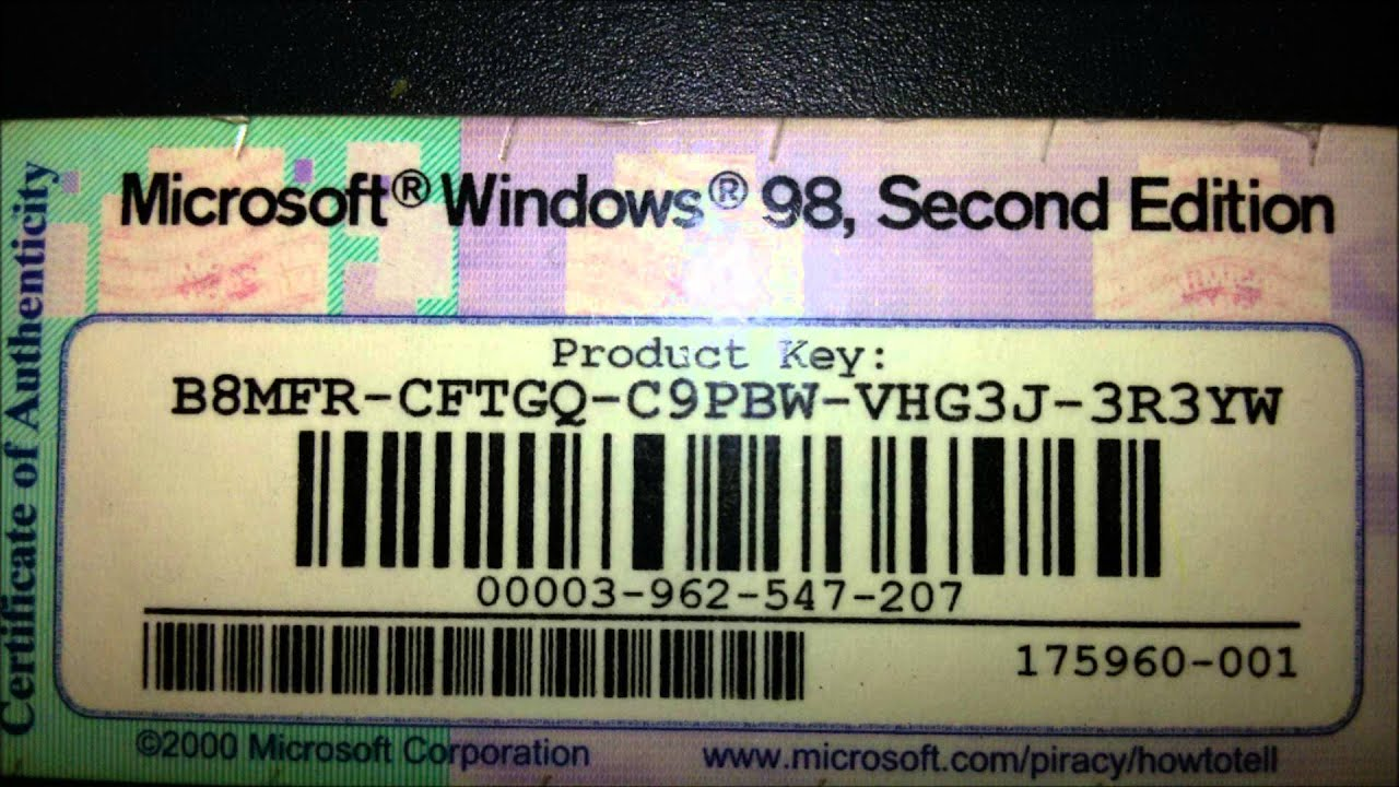windows 98 second edition iso