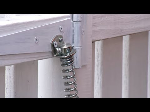 How to Install a Gate Spring | Mitre 10 Easy As - YouTube
