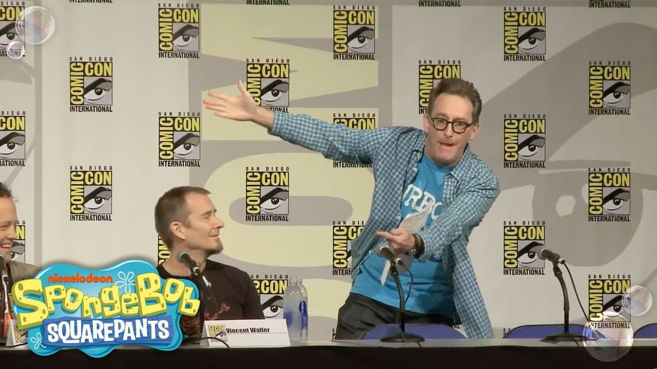 san diego comic con 2015 spongebob squarepants full panel nick
